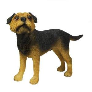 Border Terrier Figurine By Lesser & Pavey