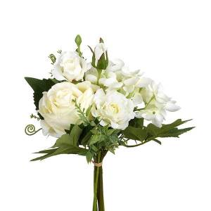 White Flower Bunch Artificial Flowers By Heaven Sends