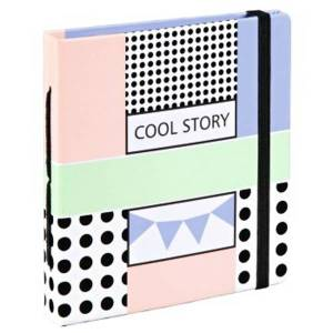 """Hama """"Cool Story"""" Slip-In Album, for 28 instant pictures up to max. 8.9 x 10.8cm"""