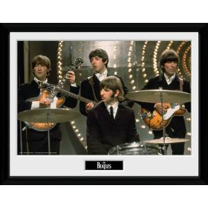 The Beatles Live Framed 16x12 Photographic Print