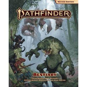 Pathfinder RPG Second Edition Bestiary Hardcover