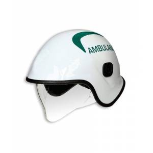 Alexandra ambulance pacific helmet  - White - Size: One Size