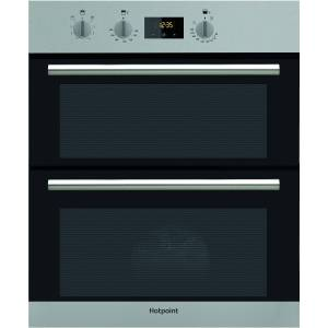 Hotpoint Luce Electric Built Under Double Oven - Stainless Steel
