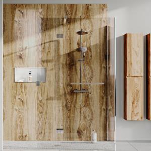 Abacus Rustic Oak PVC Shower Wall Panel - 2400 x 1200mm