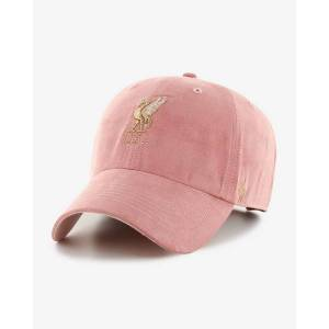 Liverpool FC LFC Womens '47 Suede Clean Up Pink Cap  - Pink - Size: 10.5