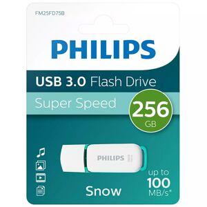 Philips 256GB Snow USB 3.0 Flash Drive 100MB/s - Green