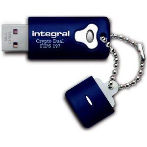 Integral 2GB Crypto Dual Fips 197 256-bit Hardware Encrypted USB Flash Drive