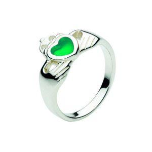 Kit Heath Heritage Heritage Celtic Stone Claddagh Ring 1280GA Size L S