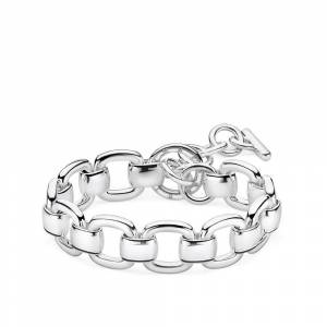 Thomas Sabo Sterling Silver Thomas Sabo Heritage Curb Chain Bracelet A