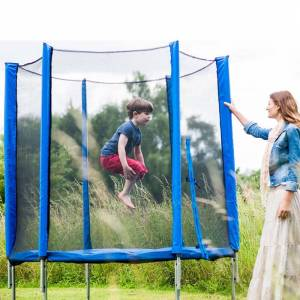 Plum 6ft Trampoline and Enclosure (Blue)