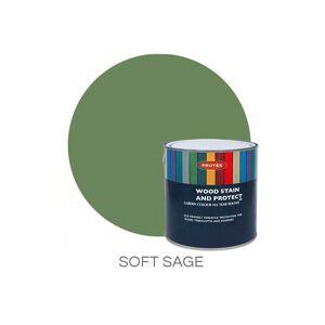 Protek Wood Stain & Protector Tester - Soft Sage Colour: Soft Sage
