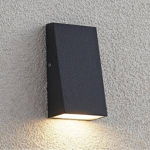 Lucande Adarey LED outdoor wall lamp, IP54