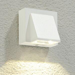 Lucande Marik white LED outdoor wall light