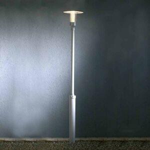 Konstmide High-quality NOVA post light, grey