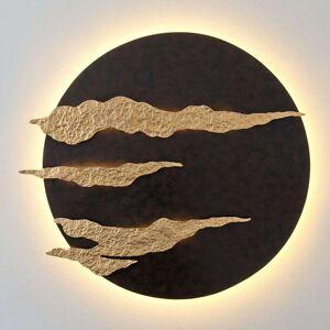 J. Holländer Firmamento - black and gold LED wall lamp
