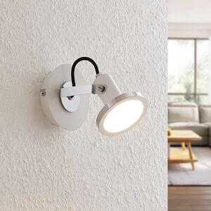 Lindby Theda LED spotlight, white, one-bulb