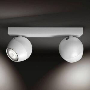 Philips Hue Buckram two-bulb dimmer switch white