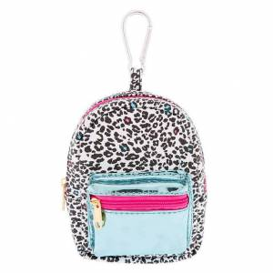 Claire's Leopard Love Mini Backpack Keychain