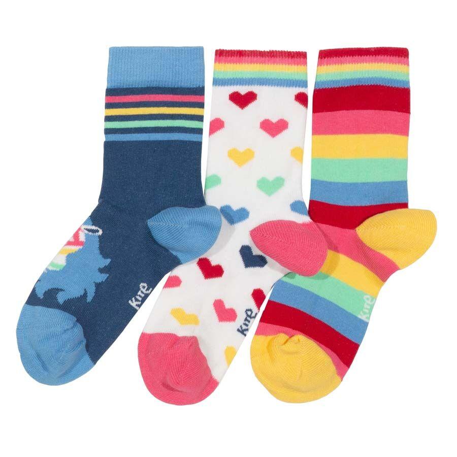 Kite Clothing Kite Rainbow Zebra Socks