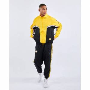 Nike NBA Los Angeles Lakers City Edition Courtside - Men Tracksuits  - Yellow - Size: Small