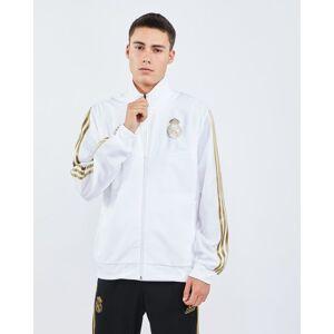 adidas Performance Real Madrid Football Pre-match - Men Track Tops  - White - Size: Medium