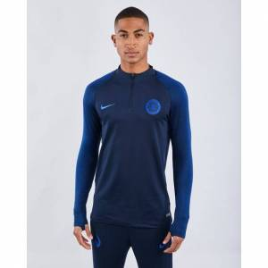 Nike CFC Strike Drill Top Football - Men Track Tops  - Blue - Size: Extra Large