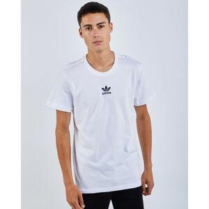 adidas Adicolor Trefoil - Men T-Shirts  - White - Size: Medium