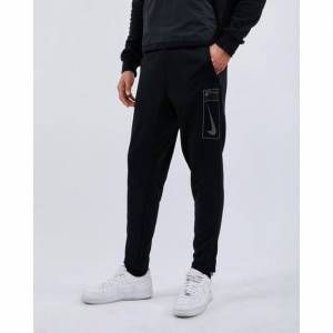 Nike Reflective Swoosh Poly Pant - Men Pants  - Black - Size: Extra Small