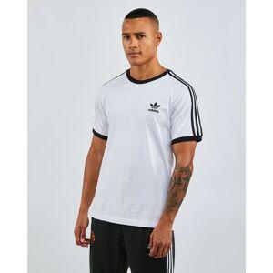 adidas adicolor 3-Stripes - Men T-Shirts  - White - Size: Large