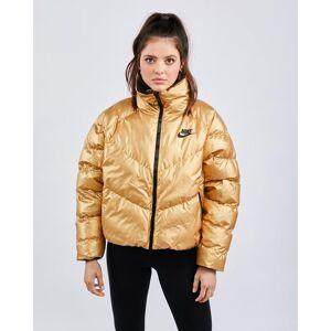 Nike Shine Synthetic Fill - Women Jackets  - Gold - Size: Medium