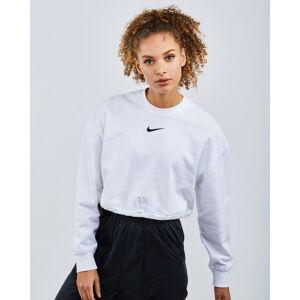 Nike Sportswear Swoosh Crop - Women Sweatshirts  - White - Size: Small