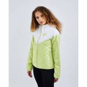 Nike Sportswear Synthetic Fill - Women Jackets  - Green - Size: Extra Small