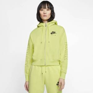 Nike Air - Women Hoodies  - Green - Size: Small