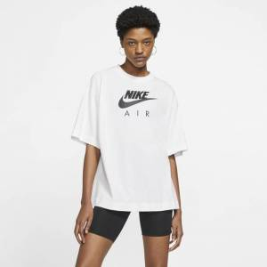 Nike Air Top - Women T-Shirts  - White - Size: Extra Large