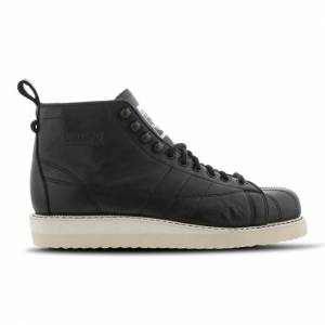 adidas Superstar Boots - Women Boots  - Black - Size: 36