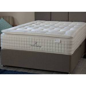 """Tuft & Springs Tuft  Springs Chantilly 3000 Divan Bed Set - King Size (5' x 6'6""""), 4 Drawers, Hyder_Hercules Brown"""