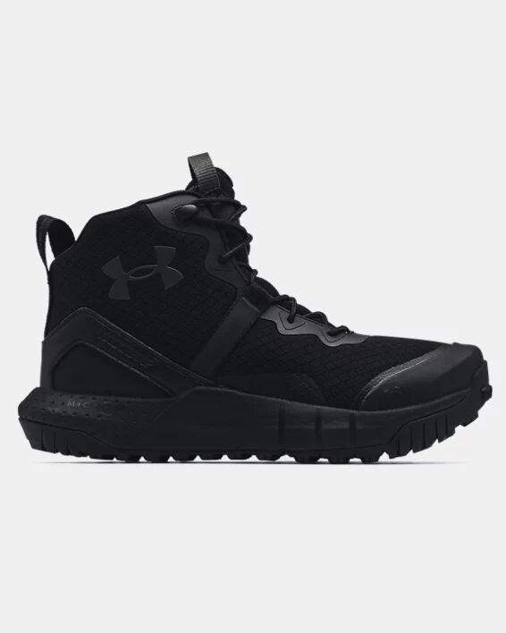 Under Armour Women's UA Micro G Valsetz Mid Tactical Boots  - Black - Size: 7