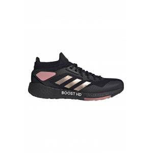 Adidas Pulseboost HD Shoes - Core Black/Copper Metallic/Glow Pink - UK 6.5