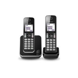 KXTGD312EB Cordless Phone - 2 Handsets