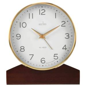 Acctim Lannister Table Clock, Gold