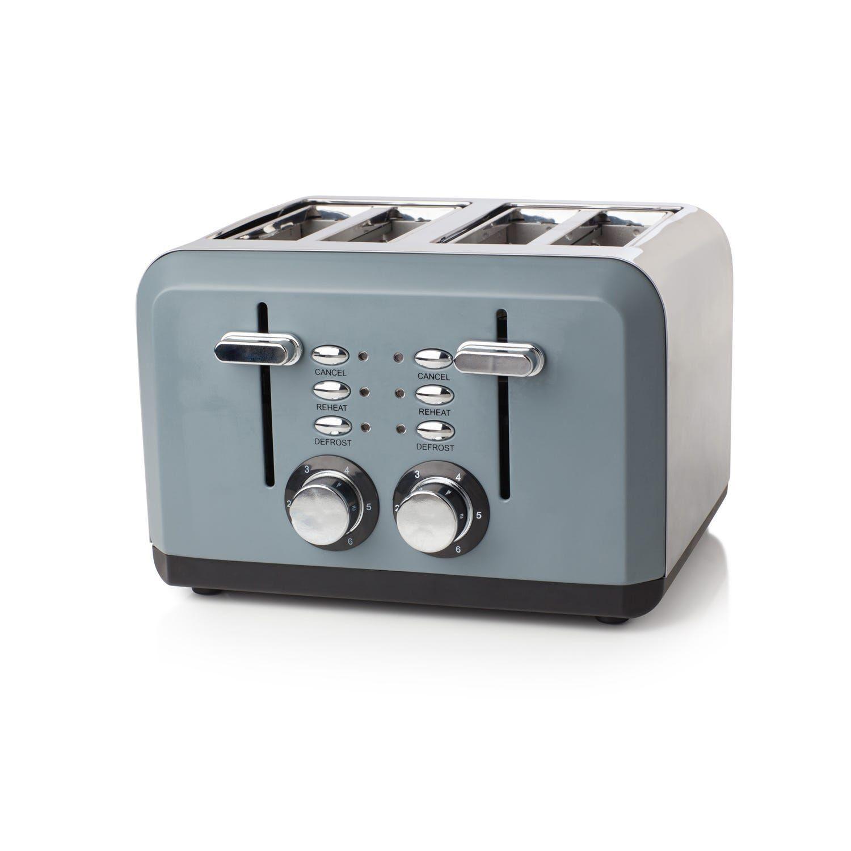 Haden Perth Toaster, Slate Grey