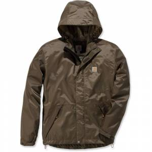 Size:   Small -   Carhartt Mens Dry Harbor Hooded Quick Dry Waterproof Jacket S - Chest 34-36' (86-91cm)