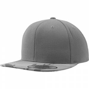 Size:  ONE-   Flexfit by Yupoong Mens Classic Shape Camo Visor Snapback Cap One Size