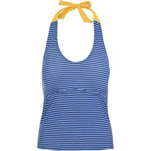 Size:   Large -   Trespass Womens Winona Tie Neck Contrast Summer Tankini Top 14/L - Waist 32' (81cm)
