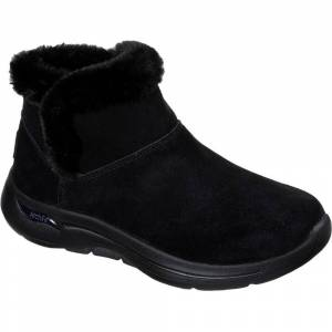 Size:  6-   Skechers Womens Go Walk Arch Fit Cherish Slip On Ankle Boots UK Size 6 (EU 39)