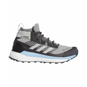 adidas Terrex Free Hiker GORe-TeX Women's Boots - Ch Solid Grey/Grey Two/Glow Blue - Size: 4 UK
