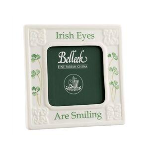 Belleek Classic Irish Eyes are Smiling 3 x 3 Frame
