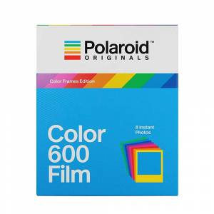 POLAROID Color 600 Color Frames Edition Instant Film for 600, Impulse and iType Cameras - 8 Shot Pack