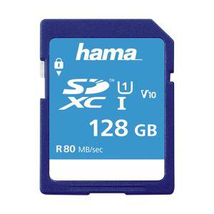 Hama Secure Digital SDXC 128GB Class 10 UHS-I 80MB/S