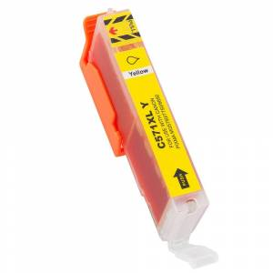Canon Non-OEM CLI-571XL Yellow Ink Cartridge for Canon 12.2ml